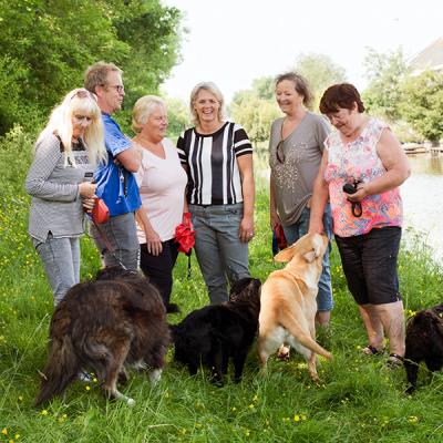 Hondenlosloopplek in Stompwijk opgeknapt