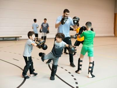 Kickbokslessen in Morgenstond